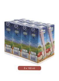 Lacnor Essentials Apple Juice 8 X 180Ml