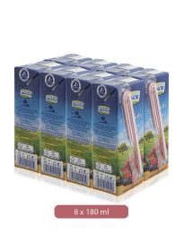 Lacnor Essentials Mixed Berries Fruit Drink 8 X 180Ml