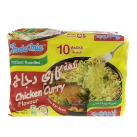 Indomie Instant Noodles Chicken Curry Flavour 75g x 10 Packets