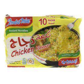 Indomie Instant Noodles Chicken Flavour 75g x 10 Packets