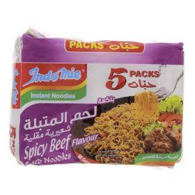 Indomie Spicy Beef Flavour Noodles 80g x 5 Pieces