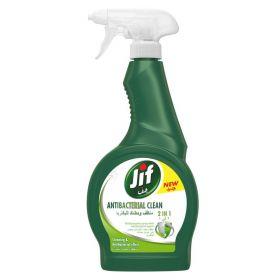 Jif Antibacterial Clean  2 In 1  Spray 500Ml