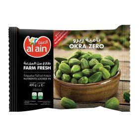 Al Ain Frozen Tender Okra Zero 400Gm