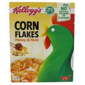 Kellogg's Corn Flakes Honey & Nuts 375g