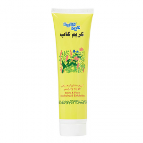 KREM KAP BODY AND FACE SCRUBBING AND EXFOLIATING TUBE 150ml