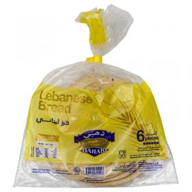 Dahabi Lebanese Bread (khubus) 6 pcs