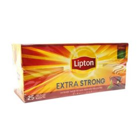 Lipton Extra Strong Black Tea 25 Bag