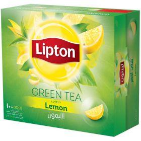 Lipton Green Tea Lemon Tea Bags 100pcs