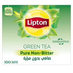 Lipton Green Tea Pure Non-Bitter Tea Bags 100pcs