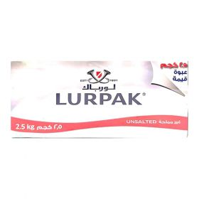 Lurpak Butter Unsalted 2.5Kg