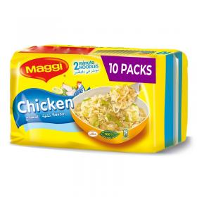 Maggi 2 Minute Chicken Noodles 77g x 10pcs