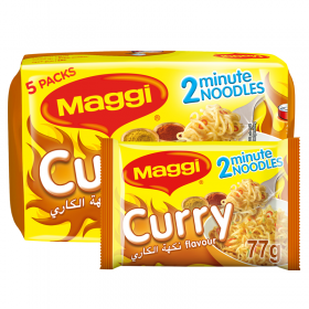 Maggi 2 Minutes Noodles Curry 79g x 5 Pieces