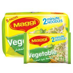 Maggi 2 Minutes Noodles Vegetables 5 X 77g