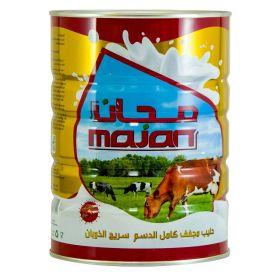 Majan Super Instant Full Cream Milk Powder 900g Tin