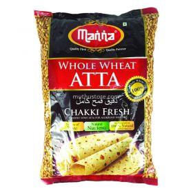 Manna Whole Wheat Atta 5 Kg