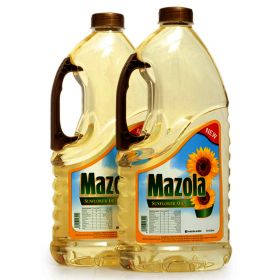 Mazola Sunflower Oil 2 X 1.8 Ltr