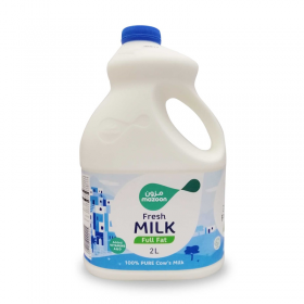 Mazoon Fresh Milk Full Fat 2 Ltr