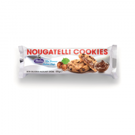 Merba Nougatelli Cookies 175Gm