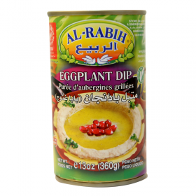 Al Rabih Eggplant Dip (Baba Ghanouj) 360 Gm