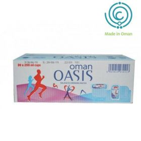 Oasis Cup Water 30 X 200Ml