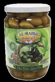 Al Rabih Green Olives 1 Kg