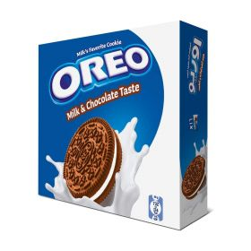 Oreo Milk And Chocolate Taste Cookie 16 X 38Gm