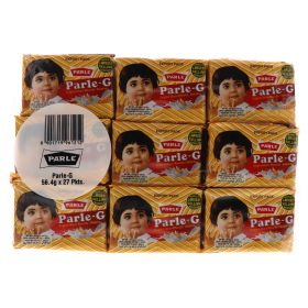 Parle-G Original Gluco Biscuits 27 x 56.4g