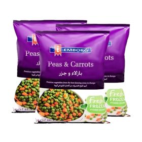 Emborg Peas And Carrots 3 x 450 GM