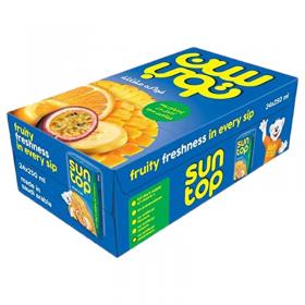 Sun Top Pineapple Juice 250 ml x 24