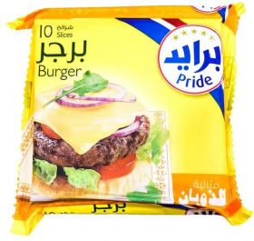 Pride Slice Cheddar Cheese Burger 10 Slices