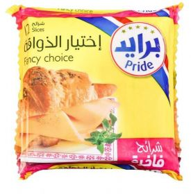 Pride Slice Cheese Thick 12 Slices