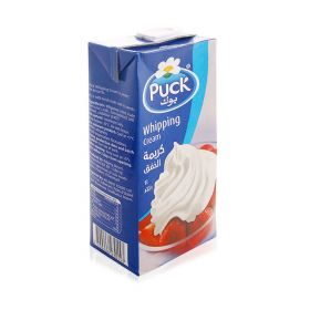 Puck Whipping Cream 1 Ltr