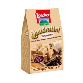 Loacker Quadratini Cappuccino 220Gm