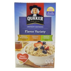 Quaker Instant Oatmeal Variety Flavour 430g