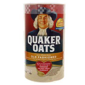 Quaker Oats 100% Whole Grain Oats 510g