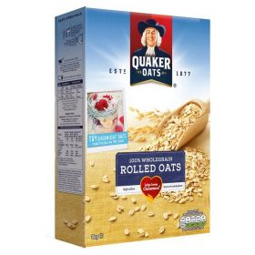 Quaker Whole Grain Rolled Oats 1kg