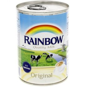 Rainbow Evaporated Milk Original 410Gm