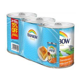 Rainbow Sweetened Condensed Milk 3 x 397GM
