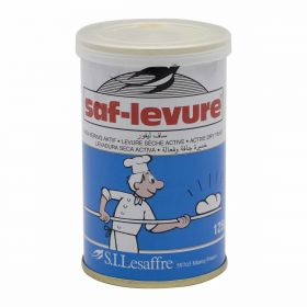 saf-levure active dry yeast, tin packed, 125g