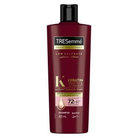 TRESemme Keratin Smooth Shampoo with Argan Oil for Dry & Frizzy Hair 400ml
