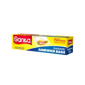 Sanita Sandwich Bag 162 X 175 Mm 150 Bags