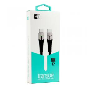 USB Cable Pd Charging Heatz Zc25 Transoe Type C