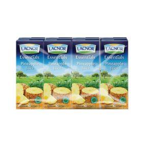 Lacnor Essentials Pineapple Juice 8 X 180Ml