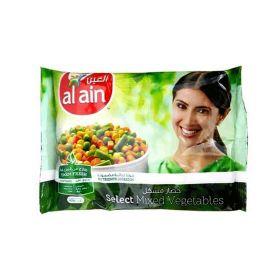 Al Ain Frozen Mixed Vegetables 400Gm