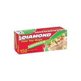 Diamond Sandwich Fold Top Bag S 140 Cm* 16.5 Mm 150 Bags