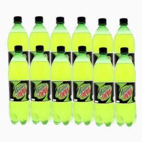 Mountain Dew Carbonated Soft Drink Pet 12 X 1Litre
