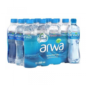 Arwa Water 500Ml X 12 Pcs