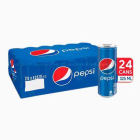 Pepsi Carbonated Soft Drink Can 24 X 325Ml