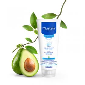 Mustela 2 In 1 Hair And Body Cleansing Gel 200 Ml