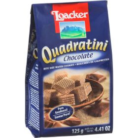 Loacker Quadratini Chocolate 125Gm